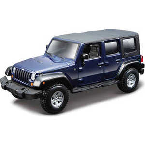 Автомобиль Bburago 1:32 Street Fire Jeep Wrangler Unlimited Rubicon 18-43012
