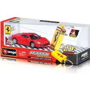 Bburago Машинка Ferrari с брелком дистанционного управления, 1:43 18-31225
