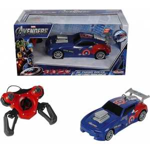 Авто Majorette 1:24 Капитан Америка 2-х канальное на р/у 3089733*** avengers машина на радиоуправлении капитан америка