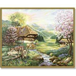 Раскраска по номерам Schipper ''Весна'' 9130505