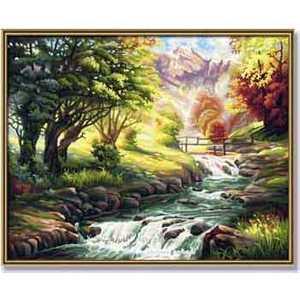 Раскраска по номерам Schipper ''Горная река'' 9130412