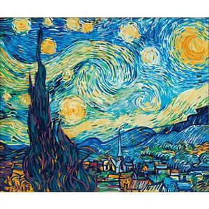 Раскраска по номерам Schipper ''Звездная ночь'' Ван Гог 9360606