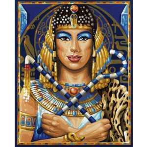 Раскраска по номерам Schipper Клеопатра 9130425 наборы для рисования цветной картины по номерам огненное дерево