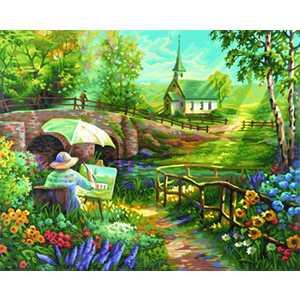 Раскраска по номерам Schipper Лето 9130506 наборы для рисования цветной картины по номерам огненное дерево