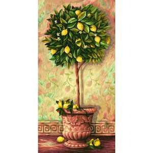 Раскраска по номерам Schipper Лимонное дерево 9220397 наборы для рисования цветной картины по номерам огненное дерево