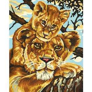Schipper Раскраска по номерам Львица с львенком 9240383