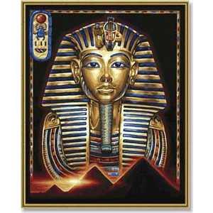 Фотография товара раскраска по номерам Schipper ''Маска Тутанхамона'' 9130387 (158765)