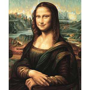 Фотография товара раскраска по номерам Schipper ''Мона Лиза'' 9130511 (158771)