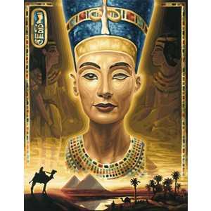 Фотография товара раскраска по номерам Schipper ''Нефертити'' 9130413 (158774)