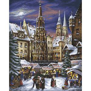 Schipper Раскраска по номерам Рождественские гуляния 9130336