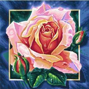 Раскраска по номерам Schipper ''Роза'' 9250409