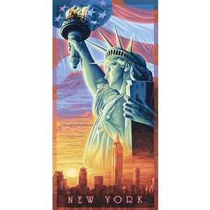 Раскраска по номерам Schipper ''Статуя Свободы'' 9220496