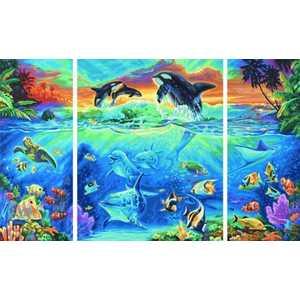 Раскраска по номерам Schipper ''Коралловые рифы'' триптих 9260531