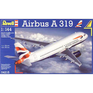 Самолет Revell 1:144 Airbus A-319 04215