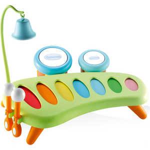 Smoby Музыкальный инструмент-ксилофон 211013* ролевые игры smoby инструмент многофункциональный 5 в 1 тачки 2