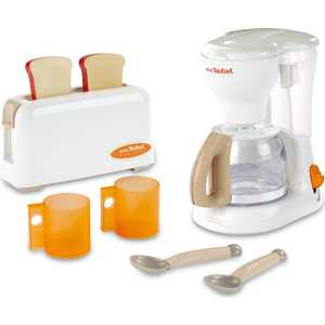Smoby Набор тостер + кофеварка Tefal 24550* механический блендер tefal smoby