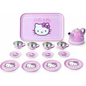 Smoby Набор посудки 11 предметов металлическая Hello Kitty 24783*