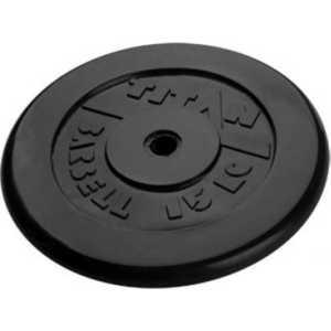 Диск обрезиненный Titan 51 мм 15 кг черный диск обрезиненный titan 26 мм 5 кг черный