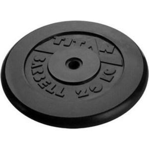 Диск обрезиненный Titan 31мм 20кг черный диск обрезиненный titan 26 мм 5 кг черный