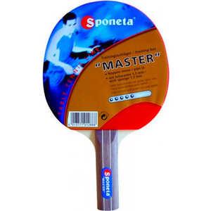 Ракетка для настольного тенниса Sponeta Master 5 star джинсы женские lee цвет синий l305aifa размер 30 35 46 35