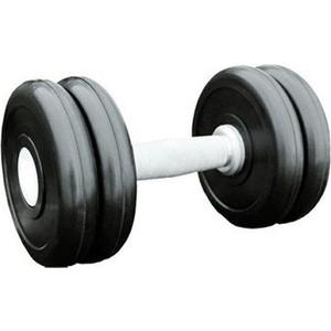 Гантель профессиональная MB Barbell Профи черная 11 кг гантель обрезиненная mb barbell фитнесс 1 0 кг черная