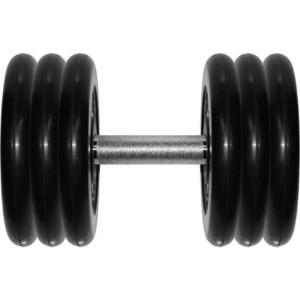 Гантель профессиональная MB Barbell Профи черная 31 кг гантель профессиональная mb barbell профи черная 18 5 кг