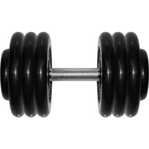 Гантель профессиональная MB Barbell Профи черная 33.5 кг гантель профи mb barbell черная 31 кг