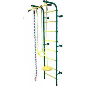 Детский спортивный комплекс Пионер С1Н (зеленый/желтый)