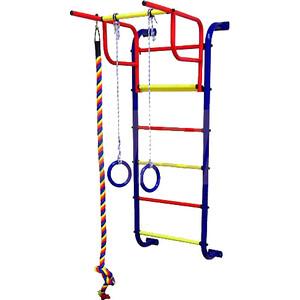 Детский спортивный комплекс Пионер 7М (синий/жёлтый)