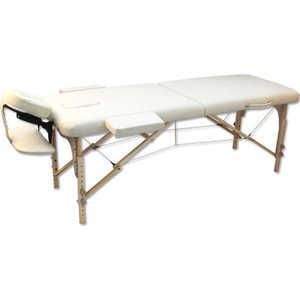 Массажный стол Winner/Oxygen Wellness EcoLine 100 Beige (бежевый) стол массажный складной двухсекционный wellness 2500