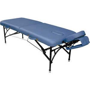 Складной массажный стол Vision Fitness Apollo II Синий агат (Agate Blue)