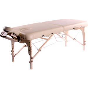 Складной массажный стол Vision Fitness Juventas II Коричневый (Chocolate)