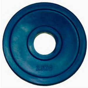 Диск обрезиненный Евро-Классик 51 мм 2.5 кг синий серия ''Ромашка'' (Олимпийский)