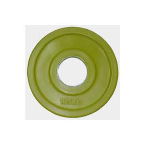 Диск обрезиненный Евро-Классик 51 мм 1.25 кг желтый серия ''Ромашка'' (Олимпийский)