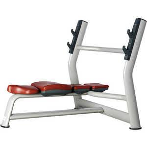 Скамья для жима горизонтальная Bronze Gym H-023A скамья для жима горизонтальная spirit fitness afb102