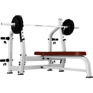 Скамья для жима горизонтальная Bronze Gym J-023