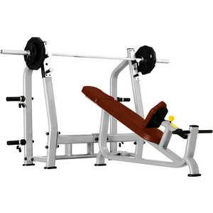 Скамья для жима наклонная Bronze Gym J-025