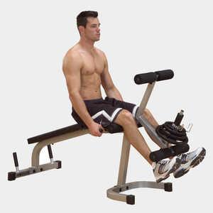 Скамья для ног Body Solid GLCE-65 баттерфляй body solid gpm 65