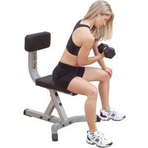 Скамья-стул Body Solid GST-20 скамья регулируемая положительный и отрицательный угол body solid fid46