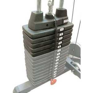 Дополнительный весовой стек к силовым тренажерам серии ''G'' Body Solid SP50 (5 шт.*10 фнт./4.53 кг.) от ТЕХПОРТ