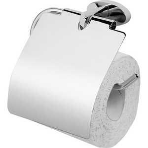 Держатель туалетной бумаги Am.Pm Awe с крышкой (A15341400) держатель туалетной бумаги lemark omega с крышкой lm3134c