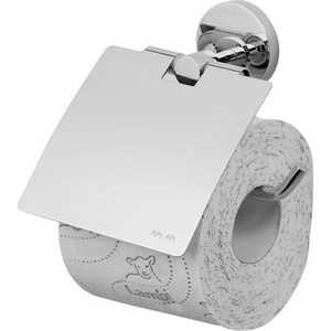 Держатель туалетной бумаги Am.Pm Bliss с крышкой (A55341464) держатели для туалетной бумаги blonder home держатель туалетной бумаги
