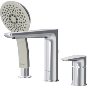 Смеситель для ванны Am.Pm Inspire (F5001300) смеситель для умывальника раковины коллекция inspire f5082100 однорычажный хром am pm ам пм