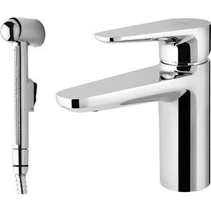 Смеситель для раковины Am.Pm Inspire с гигиеническим душем (F5004000) смеситель с душем недорого купить