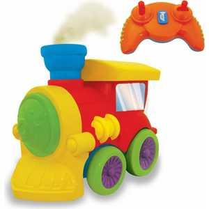 Kiddieland Развивающая игрушка Паровозик р/у KID 047837 радиоуправляемые игрушки kiddieland развивающая игрушка гонщик с пультом управления
