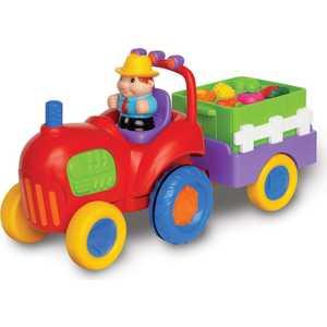 Kiddieland Развивающий игровой центр - трактор с овощами KID 037325