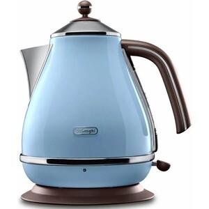 Чайник электрический DeLonghi KBOV 2001.AZ средство для удаления накипи delonghi ecodecalk 500ml