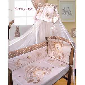 Комплект постельного белья Золотой гусь Мишутка (бежевый) 2103 б у гбц 2103