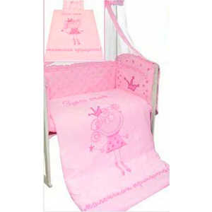 Комплект постельного белья Золотой гусь Растём весело (розовый) 2286 комплект постельного белья золотой гусь сабина 7 предметов 100% хлопок розовый