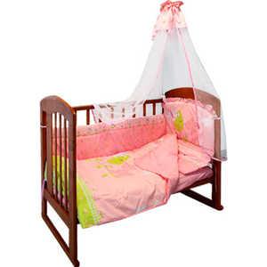 Комплект постельного белья Золотой гусь ''Little Friend'' (розовый) 2066